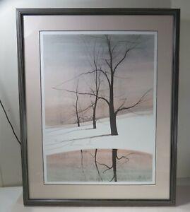 P Buckley Moss Signed & Professionally Framed Rare Print  298/1000