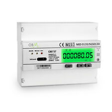 OB737 Multi-function 3 phase 100A MID Modbus Meter