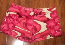 Roxy Juniors Womens Tropical Pink Floral Board Shorts Size 3