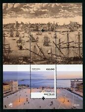 Portugal 2018 MNH Rio Tejo Tagus River 1v M/S Boats Ships Architecture Stamps