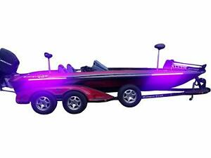 Fishing Vault High Output Ultra Violet UV Black Light LED Light Strip for Bas...