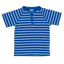 People Wear Organic Garçons T-Shirt Chemise à Manches Raglan Bio Coton Bleu