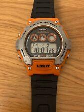 Casio Orange Digital Illuminator W-214h Watch.