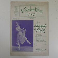 Violette de danse, Armand Falk feat. MISS VIOLETTE Fenton, NICE Cover Art