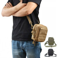 1000D Outdoor Tactical Molle Waist Pouch Military Backpack Pack Pouch Pocket Bag