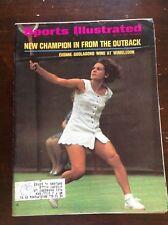 July 12 1971 Evonne Goolagong Wimbledon Tennis Sports Illustrated Magazine OLD