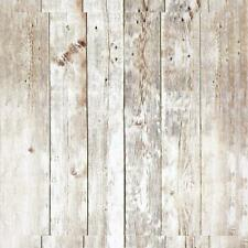 Distressed Wood Wallpaper Plank Self Adhesive Removable.