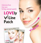 Intensive Double Chin Lifting Skin Firming V Line Corset Patch Look Young