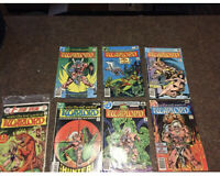 WARLORD Comic Lot,#13,#17,#23,#24,#29,#32 & 1st Issue Special #8
