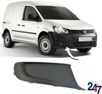 NEW VW CADDY 2010 - 2016 FRONT BUMPER LOWER BLACK GRILL TRIM RIGHT O/S