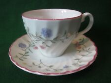 vintage summer chintz cup and saucer