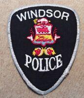 Ca Windsor Canada Police Patch