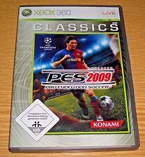 PES 2009 Pro Evolution Soccer 2009 - XBOX360 / Xbox 360 Spiel - Einwandfrei