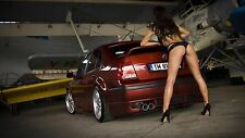 "JETA garage girl sensual Mini Poster  24"" x 36"" HD"
