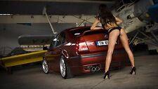 """JETA garage girl sensual Mini Poster  24"""" x 16"""" HD"""