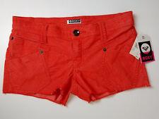Roxy Shorts Womens Size 3 Coral Corduroy Raw Edge