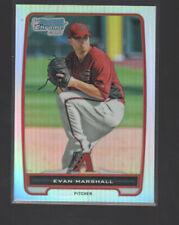 EVAN MARSHALL  2012 BOWMAN CHROME PROSPECTS REFRACTOR CARD #BCP193