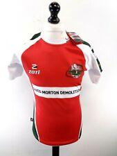 ZOTI EBBW VALE Mens Rugby Shirt M Medium 44 Red Polyester BNWT
