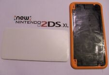 Nintendo New 2DS XL Top Shell Replacement Repair Part USA Orange & White