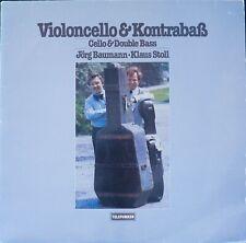 Telefunken 6.42051 Pergolesi;Fesch++:Duos for Cello & Bass/Baumann/Stoll