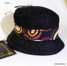 "Pet Fashions Black Felt Hat w/ Colorful Band 5""x4""  Companion Road NEW FREE S/H"