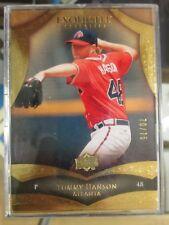 2010 Upper Deck Exquisite Collection Tommy Hanson Rare SSP /75 Atlanta Braves