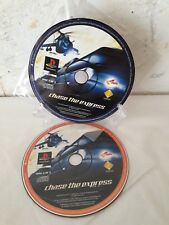 Chase the Express (Both Discs) - Game Discs Only PAL - Playstation 1 (PS1)
