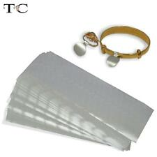 200pcs Adhesive Ring Jewellery Sticky Retail Price Tags Silver Label Stickers