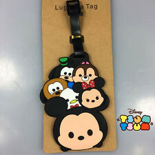 Disney mickey mouse mix duck silica gel luggage tags Baggage Tag  travel tags cu