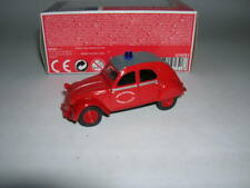 Norev Multigam Classique CITRO�‹N 2CV Pompier Fire Rouge Rouge, 1:64 3-inch