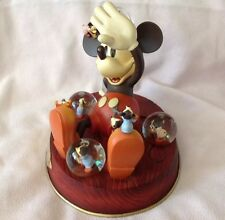 Walt Disney Mickey Mouse NIGHTMARE Large Musical Multiple Figure Snow globe