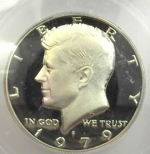1979-S KENNEDY 50 CENTS PR 70 DEEP CAMEO TYPE 2