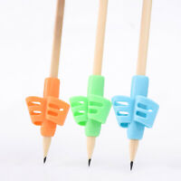 Posture Correction Two Finger Training Children Writing Aid Grip Pencil Holder
