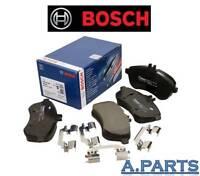 Bosch Juego de Frenos Eje Delant. Completo Mercedes Clase C W204/S204X Pastillas