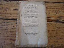 RARE VOYAGE PAR MER DE BRUXELLES A ANVERS ET RETOUR TERRE 1782 UXORIUS BELGIQUE