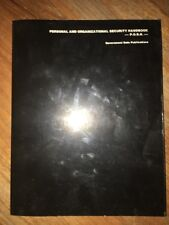 GDP Personal And Organizational Security Handbook P.O.S.H 1985