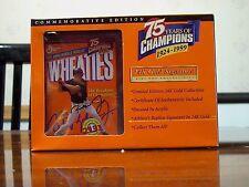 24K Gold Wheaties Cal Ripken Jr. replica box, MIB, COA