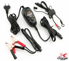 X-CHARGER XC-01 CARICABATTERIE MANTENITORE MOTO SCOOTER PIOMBO ACIDO HARLEY