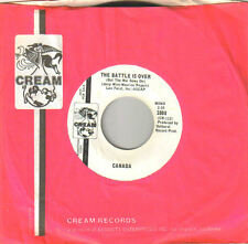 CANADA - The Battle Is Over  Mono/Stereo - Cream 1008