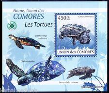 Comoros MNH Sheet,Caripatua, Mata, Doctor galap Turtle - S36
