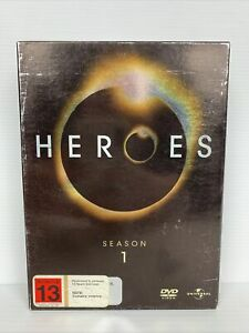 Heroes : Season 1 (DVD, 2007, 7-Disc Set)  Free TRACKED Post - Superheroes