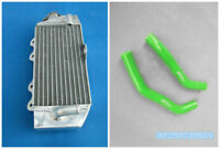 Green Aluminum Radiator & Hose 2002-2015 For Yamaha YZ85 YZ 85 09 10 11 12 13 14