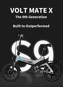 VOLT Folding Electric e-Bike Foldable Fold Up eBike Bicycle 16 inch Compact 36V