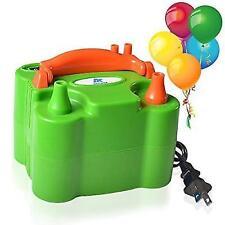 ASSEM Dual Nozzle Green 110V-120V 600W Portable Electric Balloon Pump Inflator