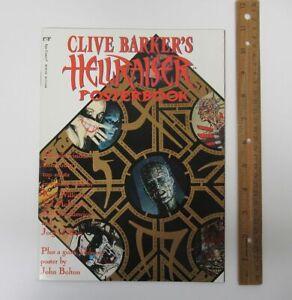 Clive Barker HELLRAISER Poster Book #1 Epic Comics Mike Mignola Bisley yz5725