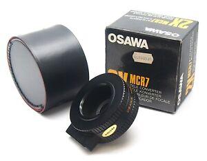 Osawa MCR7 2x Tele Converter for Reflex Cameras - UK Dealer