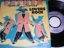 """7"""" - Father and Sons - Lovers Rock & Instrumental - France 1982 diff. # 4358"""