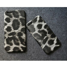 Leopard Print Silicone TPU PC Back Case Cover Skin For For iPhone 5 5S 6 6S Plus
