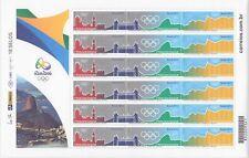 Brasilien Brazil 2015 Bogen 4246-48 postfrisch ** Olympic Olympiade Rio 2016