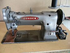 New Listingconsew 226 Walking Foot Industrial Sewing Machine With Reverse Table Motor
